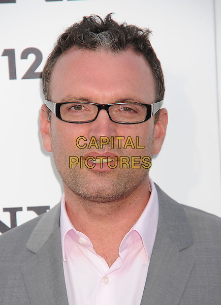 Henry Jackman<br /> arriving at the Los Angeles Premiere of &quot;This Is The End&quot; at Regency Village Theatre in Westwood, California on June 3rd 2013. <br /> portrait headshot glasses <br /> CAP/ROT/TM<br /> &copy;Tony Michaels/Roth Stock/Capital Pictures