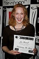 ***Jan Maxwell has passed away at the age of 61 after a long battle with cancer***<br /> ***FILE PHOTO*** Jan Maxwell ( ENTERTAINING MR. SLOANE )<br /> Attending the Official Drama Desk Cocktail Reception honoring this year's Drama Desk Award Nominees at Arte Cafe in New York City.<br /> May 2, 2006 <br /> CAP/MPI/WAL<br /> &copy;WAL/MPI/Capital Pictures