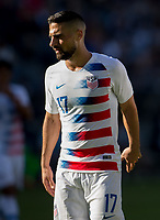 CARSON, CA - FEBRUARY 1: Sebastian Lletget #17 of the United States during a game between Costa Rica and USMNT at Dignity Health Sports Park on February 1, 2020 in Carson, California.