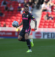 Leeds United's Stuart Dallas<br /> <br /> Photographer Stephen White/CameraSport<br /> <br /> The Premier League - Stoke City v Leeds United - Saturday August 24th 2019 - bet365 Stadium - Stoke-on-Trent<br /> <br /> World Copyright © 2019 CameraSport. All rights reserved. 43 Linden Ave. Countesthorpe. Leicester. England. LE8 5PG - Tel: +44 (0) 116 277 4147 - admin@camerasport.com - www.camerasport.com