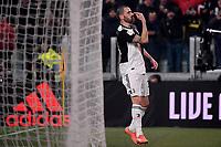 Leonardo Bonucci of Juventus celebrates after scoring the goal of 3-0 <br /> Torino 22/01/2020 Juventus Stadium <br /> Football Italy Cup 2019/2020 <br /> Juventus FC - AS Roma <br /> Photo Federico Tardito / Insidefoto