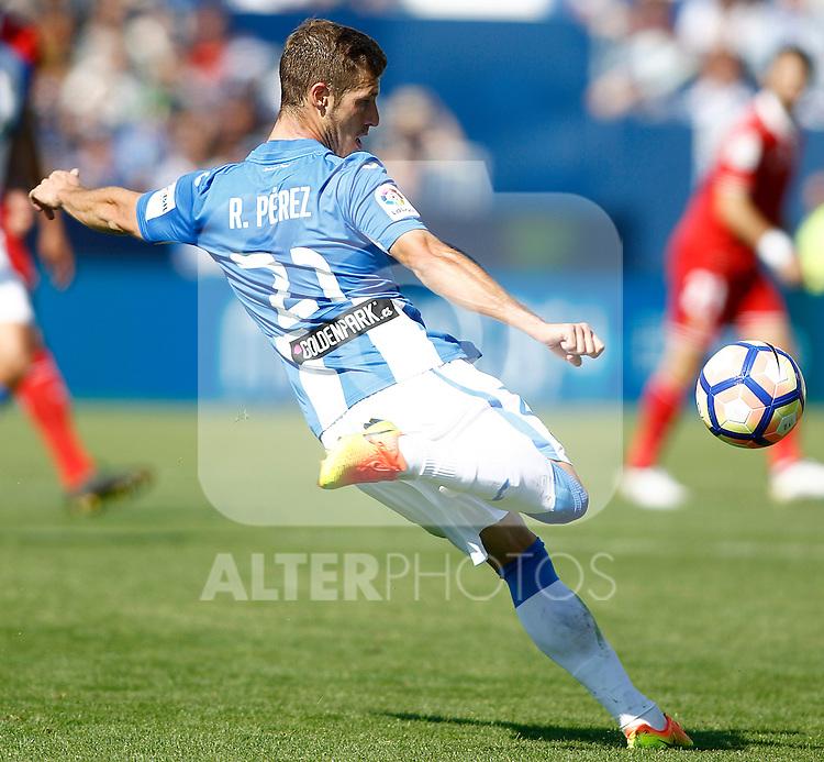 CD Leganes' Ruben Perez during La Liga match. October 15,2016. (ALTERPHOTOS/Acero)