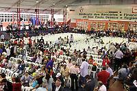 SAO PAULO, SP, 22.05.2015 - LULA-SP - Convidados durante a abertura da etapa estadual de São Paulo do 5º Congresso do Partido dos Trabalhadores na quadra dos Bancários, na região central de São Paulo, SP, nesta sexta-feira, 22. (Foto: Fernando Neves/ Brazil Photo Press)