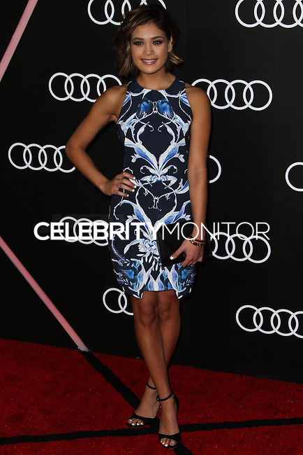 LOS ANGELES, CA - JANUARY 09: Nicole Anderson at the Audi Golden Globe Awards 2014 Cocktail Party held at Cecconi's Restaurant on January 9, 2014 in Los Angeles, California. (Photo by Xavier Collin/Celebrity Monitor)