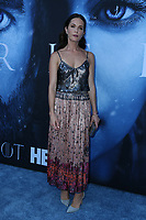 "LOS ANGELES, CA July 12- Katie Aselton,  At Premiere Of HBO's ""Game Of Thrones"" Season 7 at The Walt Disney Concert Hall, California on July 12, 2017. Credit: Faye Sadou/MediaPunch"