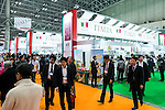 Visitors gather at the 41st International Food and Beverage Exhibition (FOODEX JAPAN 2016) on March 8, 2016, Chiba, Japan. 3,000 exhibitors from 78 nations are showcasing their products in Asia's largest food and beverage trade show held at Makuhari Messe. This year organisers expect 75,000 visitors during the four day show from March 8 to 11. (Photo by Rodrigo Reyes Marin/AFLO)