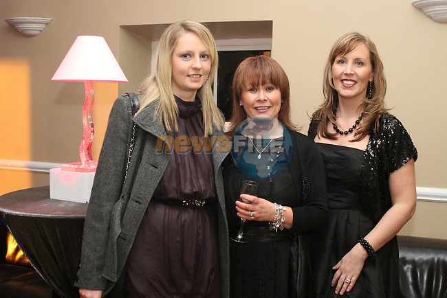 Liz Lewis, Siobhan Moore and Owner, Jennifer O Donoghue at the Opening of Harry's Bar and Grill....Photo NEWSFILE/Jenny Matthews.(Photo credit should read Jenny Matthews/NEWSFILE)....This Picture has been sent you under the condtions enclosed by:.Newsfile Ltd..The Studio,.Millmount Abbey,.Drogheda,.Co Meath..Ireland..Tel: +353(0)41-9871240.Fax: +353(0)41-9871260.GSM: +353(0)86-2500958.email: pictures@newsfile.ie.www.newsfile.ie.FTP: 193.120.102.198.