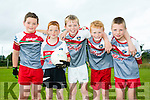 L-r  Thomas Leen, Conor Martin, Shane Gilroy, William O'Donoghue and Jack Joy. Enjoying the Ballymac Cul Camp on Monday