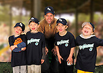 2010 Burlington American Lake Monsters T-Ball