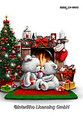Roger, CHRISTMAS ANIMALS, WEIHNACHTEN TIERE, NAVIDAD ANIMALES, paintings+++++,GBRM19-0093,#xa#