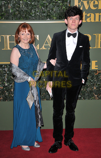 Pam Moorst &amp; David Moorst attend the London Evening Standard Theatre Awards 2015, The Old Vic, The Cut, London, England, UK, on Sunday 22 November 2015.<br /> CAP/CAN<br /> &copy;CAN/Capital Pictures
