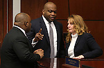 Nevada Assembly Democrats, from left, Jason Frierson, William Horne and Marily Kirkpatrick talk on the Assembly floor at the Legislative Building in Carson City, Nev., on Wednesday, Feb. 27, 2013..Photo by Cathleen Allison