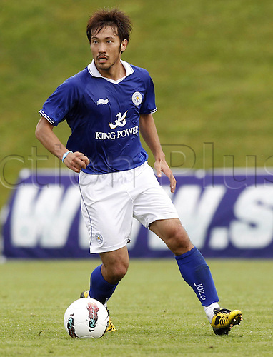 23.07.2011 Pre Season friendly football tournament from St Veit Glan in Austria, the Carinthia Cup. Valencia v Leicester. Picture shows Yuki Abe.