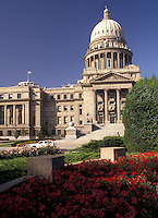 AJ3593, State Capitol, State House, Boise, Idaho, State Capitol Building in the capital city of Boise in the state of Idaho.