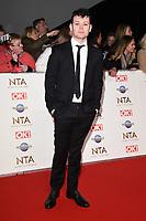 Sean Delaney<br /> arriving for the National TV Awards 2020 at the O2 Arena, London.<br /> <br /> ©Ash Knotek  D3550 28/01/2020