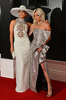 LOS ANGELES, CA - FEBRUARY 10: Jennifer Lopez and Lady Gaga at the 61st Annual Grammy Awards at the Staples Center in Los Angeles, California on February 10, 2019. Credit: Faye Sadou/MediaPunch