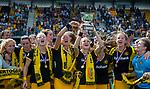 DEN BOSCH - Team van Den Bosch ,  na    de finale van de EuroHockey Club Cup, Den Bosch-UHC Hamburg (2-1) .  .COPYRIGHT  KOEN SUYK