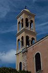 The church of Agios Nikolaos, with minaret, Xania, Crete, Greece