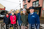 Kathleen Bailey, Ger Counihan (Chairman Killorglin Chamber Alliance), Helen O'Shea (Major of Killorglin), Gary Ledwith, Damian Quigg, Billy Browne and Garda Frank Curtin, all members of Killorglin CCTV group, pictured at Killorglin Garda Station on Tuesday morning last.
