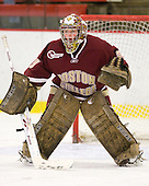 Corinne Boyles (BC - 29) - The Harvard University Crimson defeated the Boston College Eagles 5-0 in their Beanpot semi-final game on Tuesday, February 2, 2010 at the Bright Hockey Center in Cambridge, Massachusetts.