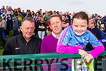 Joe Moran (Banteer) pictured with Benny Stack and Katie Stack (Lixnaw) attending the County Senior Hurling final St Brendan's Ardfert v Kilmoyley on Sunday last.