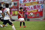Rie Usui (Reds Ladies),<br /> AUGUST 17,2014 - Football / Soccer : 2014 Nadeshiko League, between Urawa Reds Ladies 0-1 INAC KOBE LEONESSA at Urawakomaba Stadium, Saitama, Japan. (Photo by Jun Tsukida/AFLO SPORT)