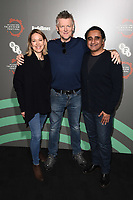 "Nicola Walker, Chris Laing and Sanjeev Bhaskar<br /> at the ""Unforgotten"" photocall as part of the BFI & Radio Times Television Festival 2019 at BFI Southbank, London<br /> <br /> ©Ash Knotek  D3494  13/04/2019"
