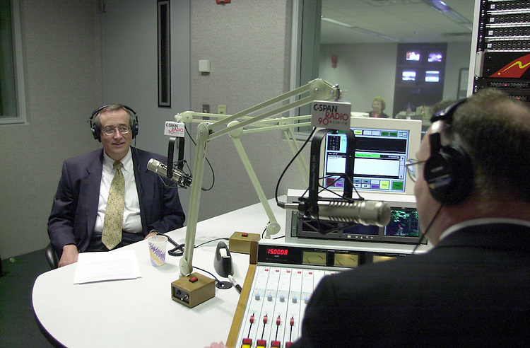 Richie D.1(DG)072700 -- Don Richie, Associate Senate Historian, during an interview on C-Span Radio with host Francis Rose.
