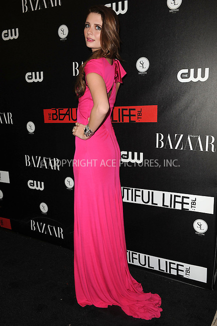 WWW.ACEPIXS.COM . . . . . ....September 12 2009, New York City....Mischa Barton at the CW Network party for the new series 'The Beautiful Life: TBL' at the Simyone Lounge on September 12, 2009 in New York City.....Please byline: KRISTIN CALLAHAN - ACEPIXS.COM.. . . . . . ..Ace Pictures, Inc:  ..tel: (212) 243 8787 or (646) 769 0430..e-mail: info@acepixs.com..web: http://www.acepixs.com