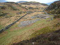 Pictured: The remains of the famous Clogau Mine.<br /> Re: Several areas thought to contain previously-undiscovered Welsh gold have been discovered by Alba Mineral Resources, who bought a stake in Gold Mines of Wales.<br /> They now own the exploration rights to a 104 sq km area where gold veins could be located.<br /> It hopes to restart the Welsh gold mining industry after the last mine closed over 20 years ago.<br /> Incredibly rare and expensive, Welsh gold is traditionally associated with the royal family, a custom of using Welsh gold for royal wedding rings was started by the Queen Mother in 1923 and has been used by royal brides ever since.