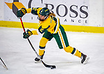 8 February 2020: University of Vermont Catamount Defender Sini Karjalainen, a Sophomore from Posio, Finland, in third period action against the University of Connecticut Huskies at Gutterson Fieldhouse in Burlington, Vermont. The Huskies defeated the Lady Cats 4-2 in the first game of their weekend Hockey East series. Mandatory Credit: Ed Wolfstein Photo *** RAW (NEF) Image File Available ***