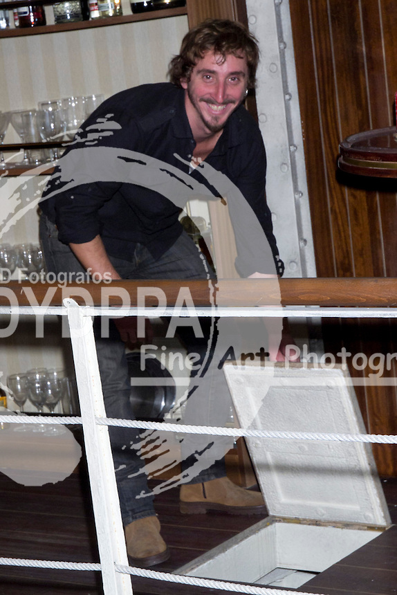 17/10/2012. Madrid. Spain. Presentation of the third season of  ´El Barco´ (The Boat). Ivan Massague. (C) Marta G. Rodriguez / DyD Fotografos