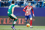 Atletico de Madrid's Yannick Carrasco (r) and Sociedad Deportiva Eibar's Mauro Dos Santos during La Liga match. February 6,2016. (ALTERPHOTOS/Acero)