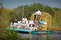 Miccosukee airboat ride in the Everglades. Photo by Debi Pittman Wilkey