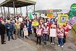 Right2Water Tralee Protest  started at Horan Centre Tralee on Saturday