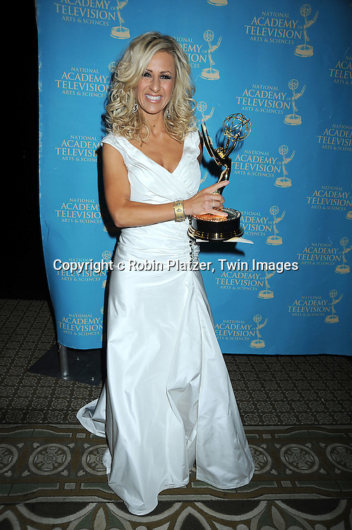Cristina Perez winner for judge show attending the 37th Daytime Emmy Awards Creative Arts & Entertainment Awards on JUne 25, 2010 at the Bonaventure Hotel in Los Angeles.