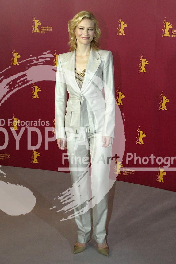 Actress Cate Blanchett at the Berlinale 2005, 55. Internationale Filmfestspiele Berlin / 55th Berlin Film Festival