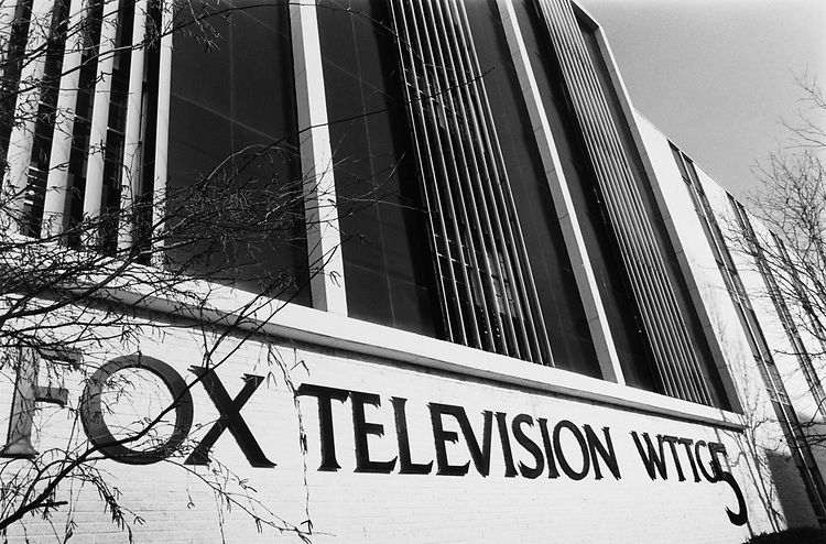 Fox Tv headquaters on Wisconsin Avenue in March 1995. (Photo by Maureen Keating/CQ Roll Call via Getty Images)