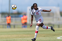 Bradenton, FL - Sunday, June 12, 2018: Wayny Balata prior to a U-17 Women's Championship 3rd place match between Canada and Haiti at IMG Academy. Canada defeated Haiti 2-1.