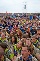 From the opening show. Photo: Christoffer Munkestam/Scouterna