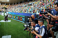 photographers and Cup<br /> Udine 30-06-2019 Stadio Friuli <br /> Football UEFA Under 21 Championship Italy 2019<br /> final<br /> Spain - Germany<br /> Photo Cesare Purini / Insidefoto