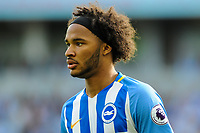 Izzy Brown of Brighton & Hove Albion (37) during the EPL - Premier League match between Brighton and Hove Albion and Manchester City at the American Express Community Stadium, Brighton and Hove, England on 12 August 2017. Photo by Edward Thomas / PRiME Media Images.