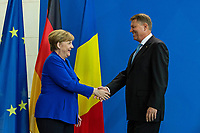 Press Conference of the German Chancellor with the Romanian President