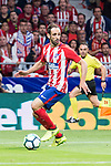 Atletico de Madrid's Juanfran Torres during La Liga match between Atletico de Madrid and Malaga CF at Wanda Metropolitano in Madrid, Spain September 16, 2017. (ALTERPHOTOS/Borja B.Hojas)