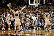 Duke handily defeated UNC 82-50 in the last regular season game at Cameron Indoor Stadium in Durham, N.C., Sat., March 6, 2010.