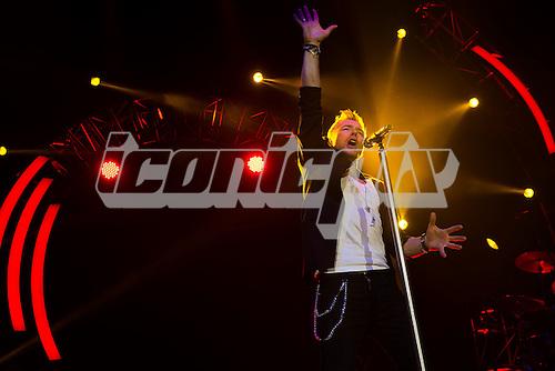 RONAN KEATING - Former Boyzone band member (born Ronan Patrick John Keating) - performing live at The O2 Arena, London, UK - 26 Jan 2013.  Photo credit: Justin Ng/Music Pics/IconicPix