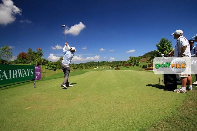 Martin Wiegele (AUT) tees off on 13th tee during Thursday's Round 1 of the 2011 Iskandar Johor Open, Horizon Hills Golf Club, Johor, Malaysia, 15th November 2011 (Photo Eoin Clarke/www.golffile.ie)