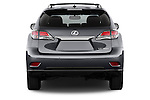 Straight rear view of a 2015 Lexus RX 350 5 Door Suv 2WD Rear View  stock images