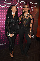 HOLLYWOOD, CA - DECEMBER 1: Terry Ellis, Cindy Herron at amfAR Dance2Cure Event at Bardot At Avalon in Hollywood, California on December 1, 2018. <br /> CAP/MPI/DE<br /> &copy;DE//MPI/Capital Pictures