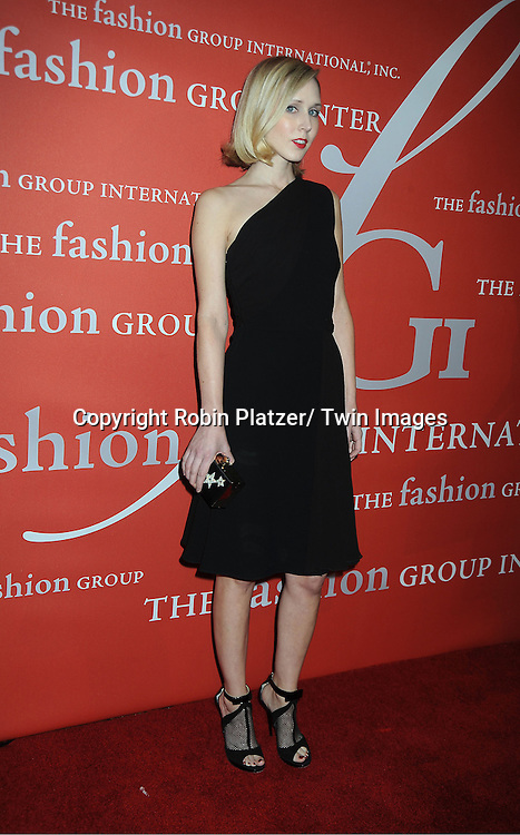 Jane Keltner Devalle attends the Fashion Group International's 29th Annual  Night of Stars Gala on October 25, 2012 at Cipriani Wall Street in New York City.